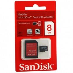 Carte Mémoire Micro SD8 Go